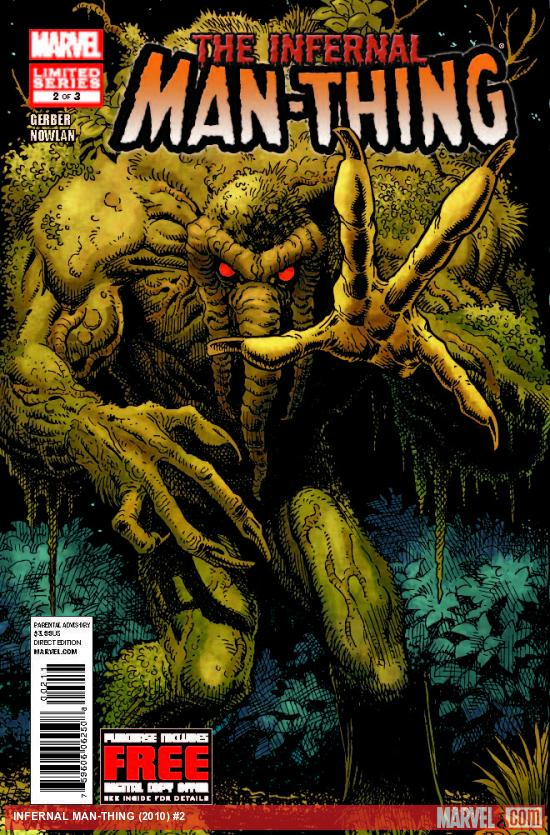INFERNAL MAN-THING 2 (WITH DIGITAL CODE)
