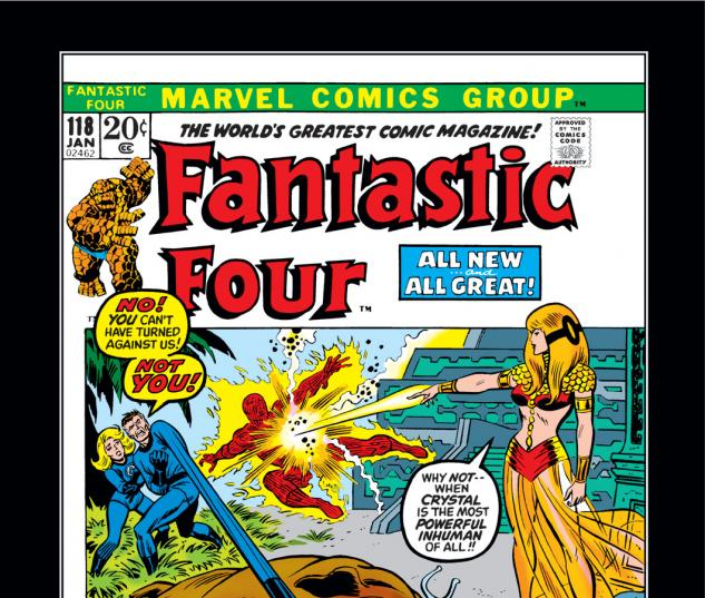 Fantastic Four (1961) #118 Cover