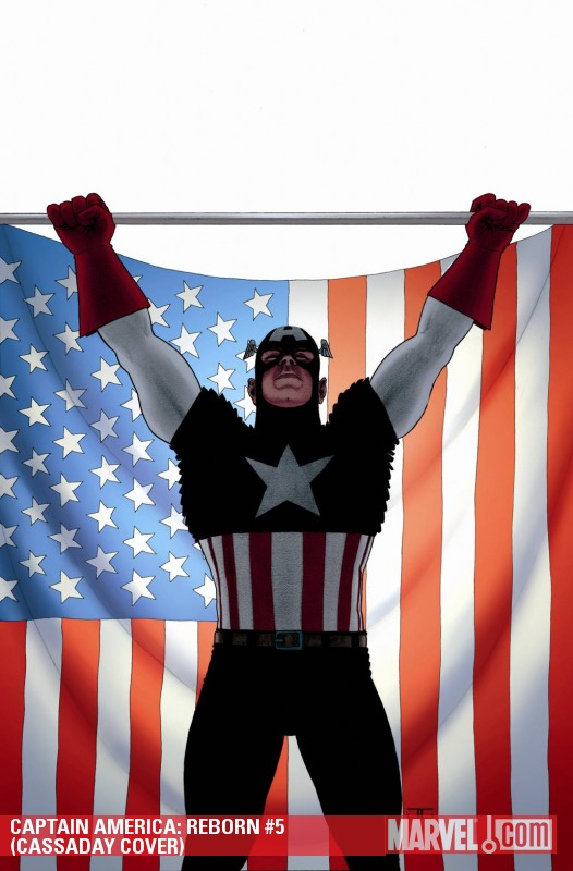 Captain America: Reborn (2009) #5 (CASSADAY COVER)