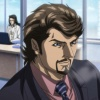 Screenshot of Tony Stark from Iron Man anime
