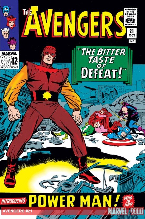 Avengers (1963) #21 cover