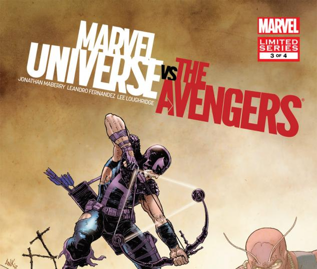 Marvel Universe Vs. the Avengers (2012) #3 Cover