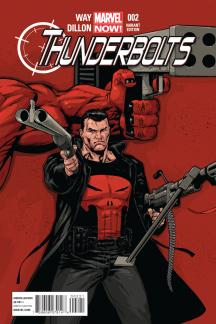 Thunderbolts (2012) #2 (Tan Variant)