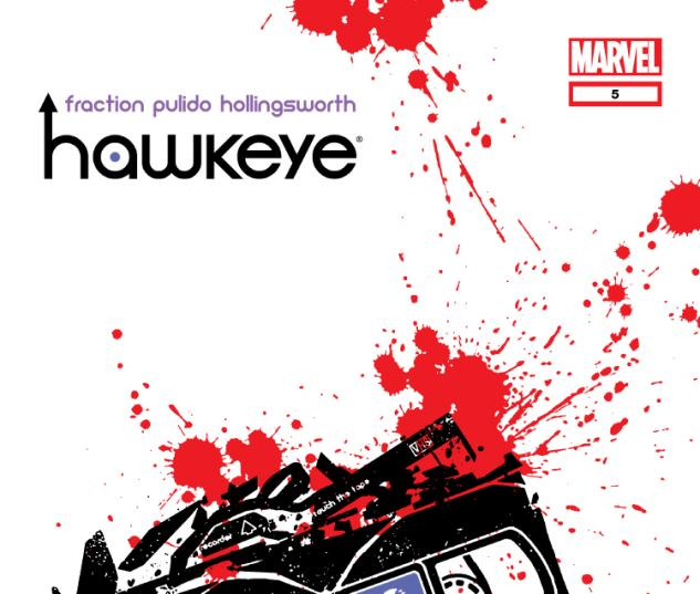 Cover #96260 Hawkeye #5
