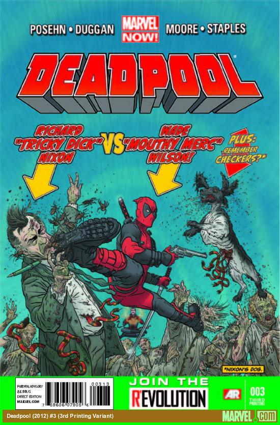 DEADPOOL 3 3RD PRINTING VARIANT (NOW)