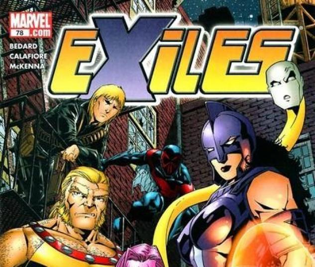 EXILES #78 Cover by Jim Calafiore