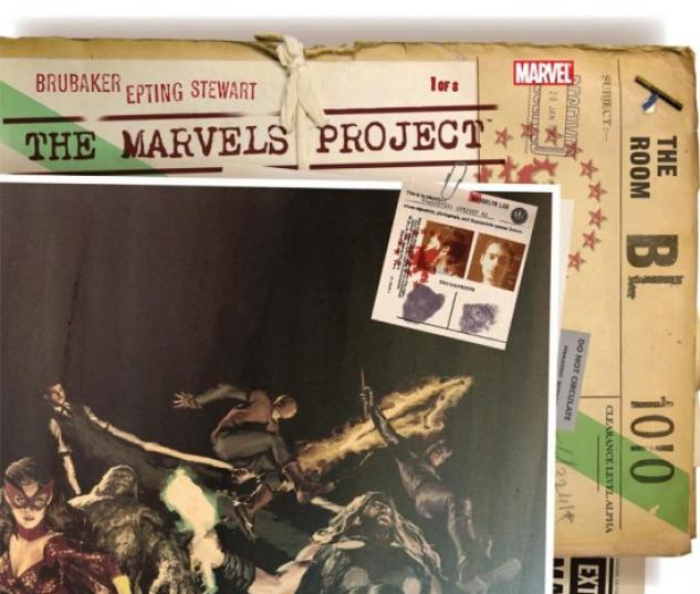 THE MARVELS PROJECT #1 Parel Variant