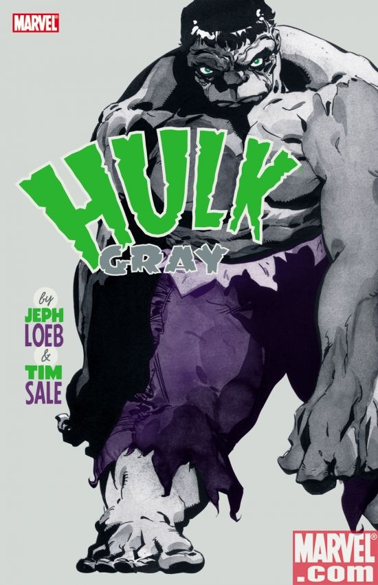 HULK: GRAY by Jeph Loeb and Tim Sale