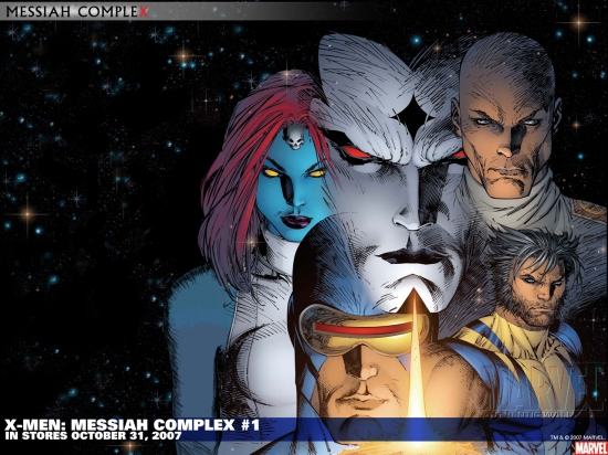 X-Men: Messiah Complex (2007) #1 Wallpaper