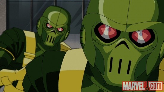 HYDRA soldiers from The Avengers: Earth's Mightiest Heroes!