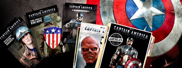 Six New Captain America Books!