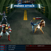 Kitty Pryde and Colossus vs. Sabretooth screen shot from Marvel: Avengers Alliance
