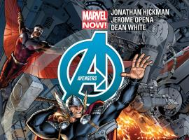 cover from Avengers (2012) #2 (2ND PRINTING VARIANT)