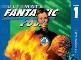 Cover: Ultimate Fantastic Four (2003) #1, Cover #1836