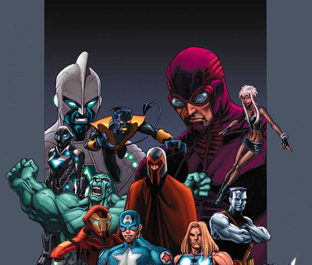 OFFICIAL HANDBOOK OF THE ULTIMATE MARVEL UNIVERSE 2005 (2007) #2 COVER