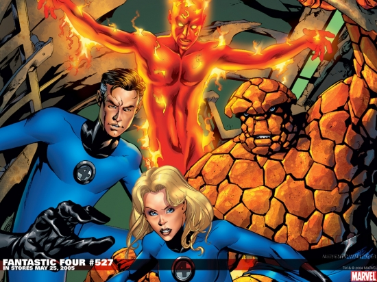 Fantastic Four (1998) #527 Wallpaper
