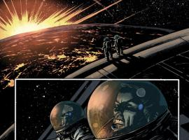Winter Soldier #15 preview art by Nic Klein