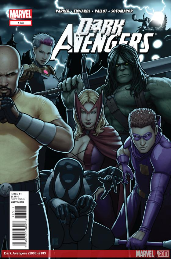 Cover: Dark Avengers (2006) #183