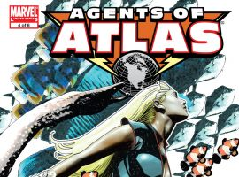 Agents of Atlas (2006) #4 Cover