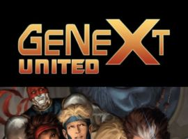 GeNext: United #4, intro page