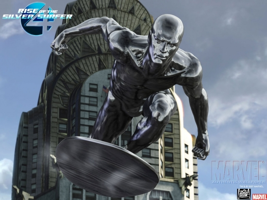 Fantastic Four: Rise of the Silver Surfer: Silver Surfer Looking