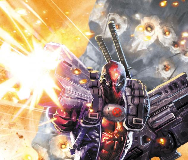 Deadpool &amp; Cable #26 cover by Dave Wilkins