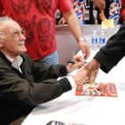 NYC 2012: Stan Lee signing at the Marvel Booth