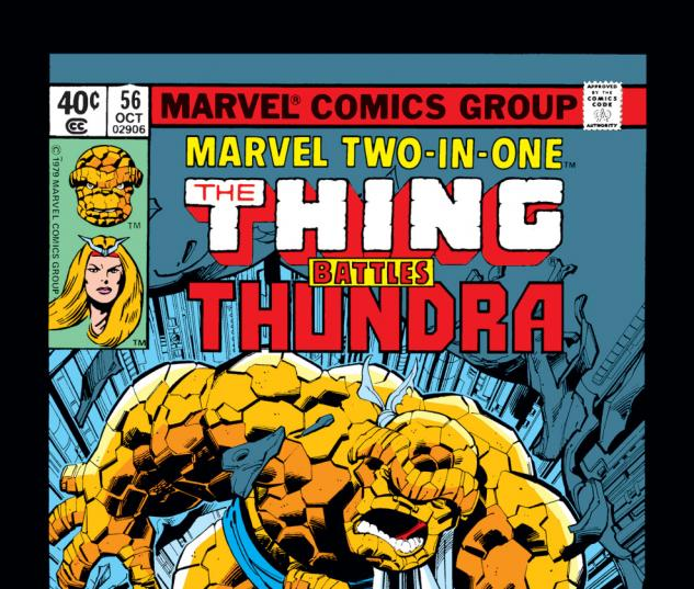 Marvel Two-in-One (1974) #56 Cover