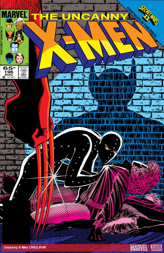 Uncanny X-Men (1963) #196 Cover
