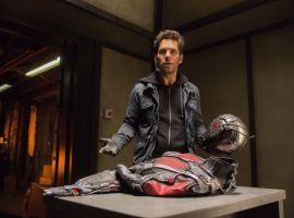Scott Lang (Paul Rudd) questions his next move in Marvel's Ant-Man