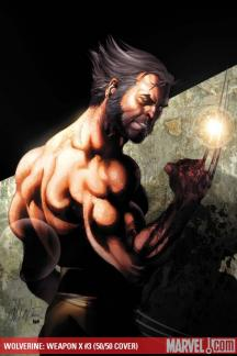 Wolverine Weapon X (2009) #3 (LARROCA (50/50 COVER))