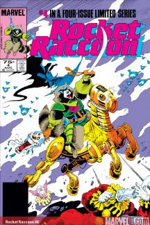 Rocket Raccoon (1985) #4