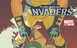 NEW INVADERS (2006) #6 COVER