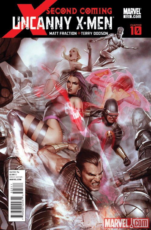UNCANNY X-MEN #525 cover by Adi Granov