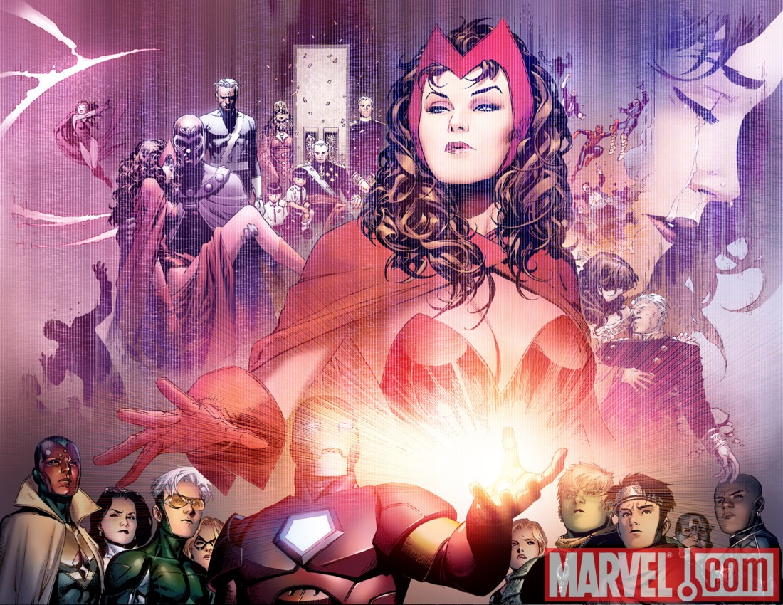 AVENGERS: THE CHILDREN'S CRUSADE #1 preview art by Jim Cheung 8