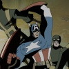 Captain America vs. HYDRA Agents from The Avengers: Earth's Mightiest Heroes!