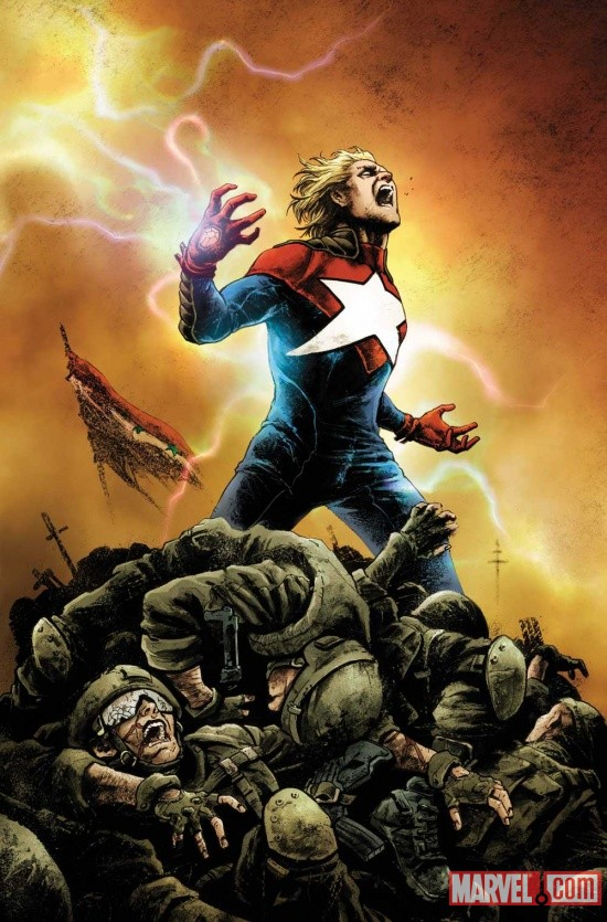 Supreme Power (2011) #1 cover