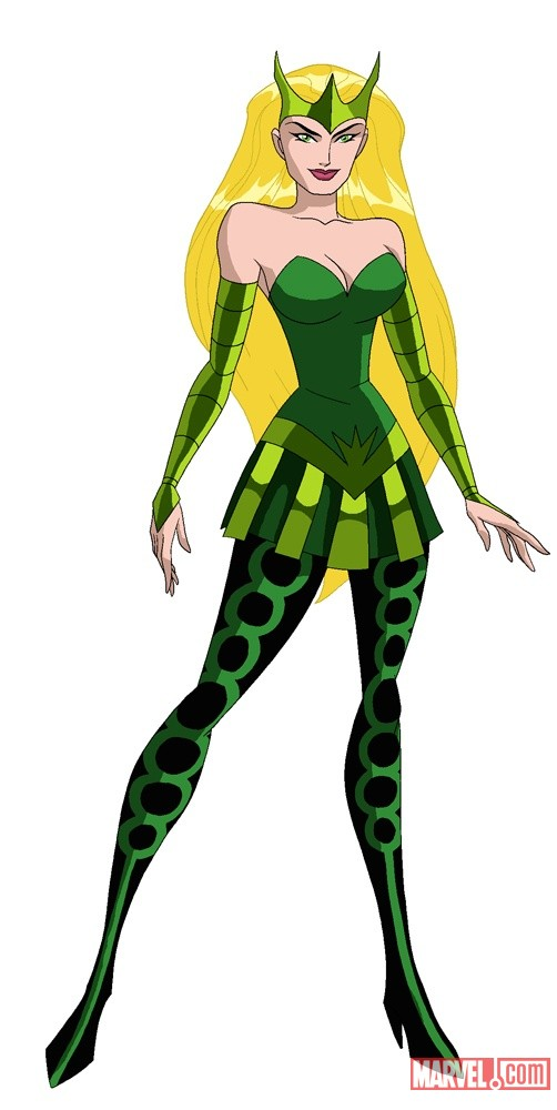 Enchantress in The Avengers: Earth's Mightiest Heroes!