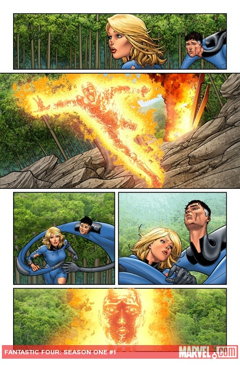 Season One: Fantastic Four #1 preview art by David Marquez