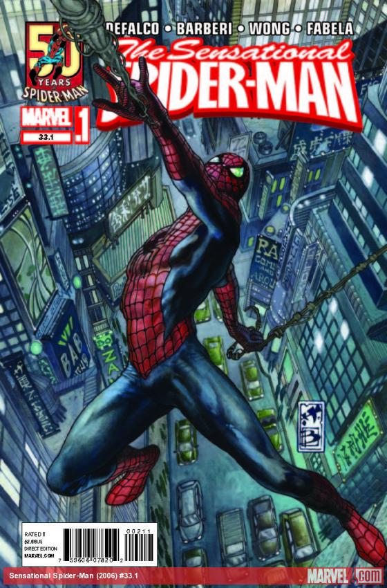 SENSATIONAL SPIDER-MAN 33.1