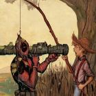 DEADPOOL KILLUSTRATED 2 2ND PRINTING VARIANT
