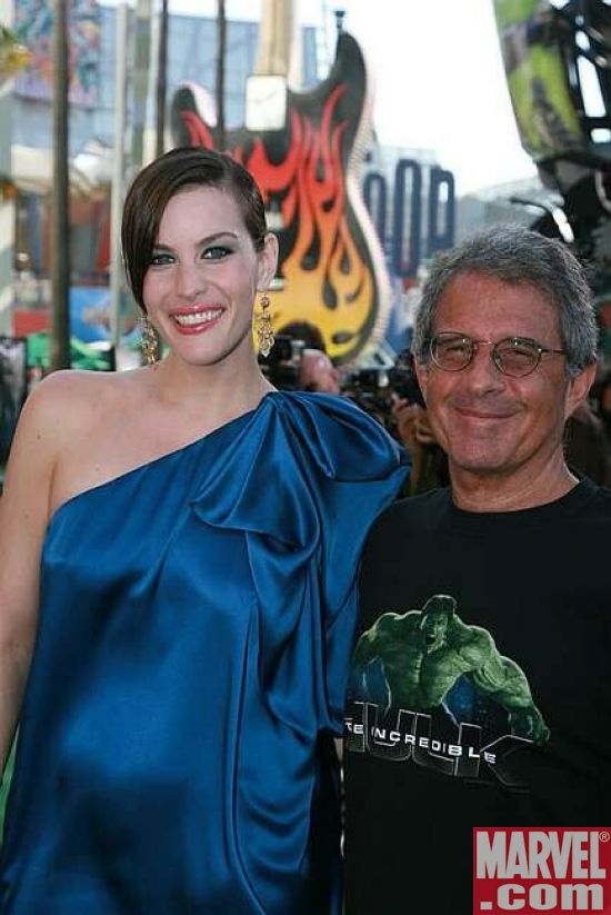 Liv Tyler and Universal Pictures Ron Meyer