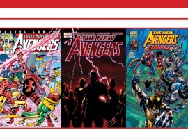 Avengers, Thor & Captain America: Official Index to the Marvel Universe #15 cover