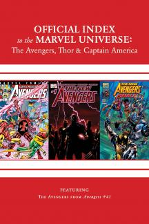 Avengers, Thor & Captain America: Official Index to the Marvel Universe Marvel Universe (2011) #15