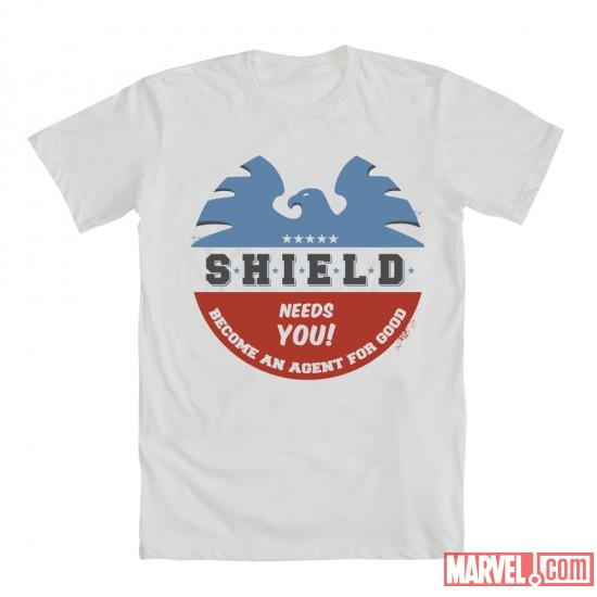 S.H.I.E.L.D. Needs You Tee by Mighty Fine