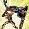 The Shocker vs Speed Demon by Tom Grummett