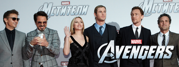 Avengers Moscow Premiere Photos Now Available