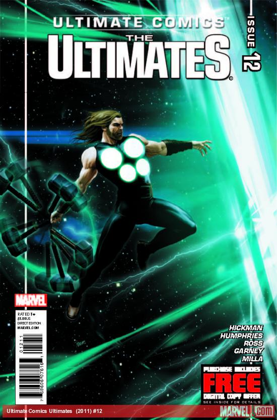 ULTIMATE COMICS ULTIMATES 12 (WITH DIGITAL CODE)