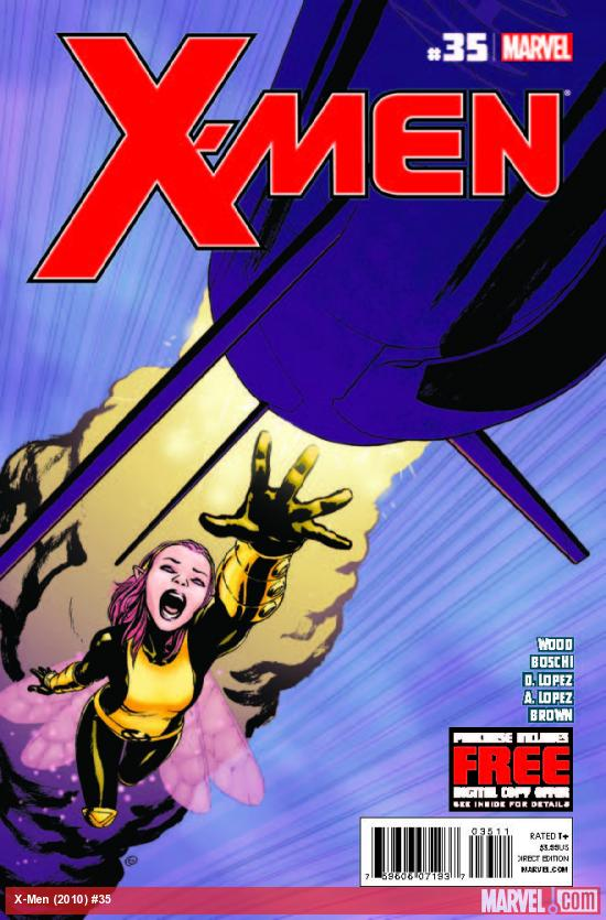 X-MEN 35 (WITH DIGITAL CODE)
