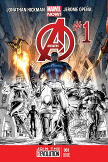 Avengers #1  (Personalized Variant)